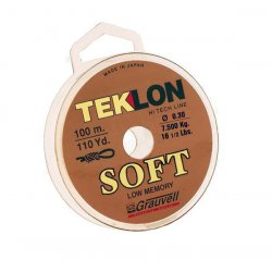 Teklon Monofilamento Teklon Soft 100m